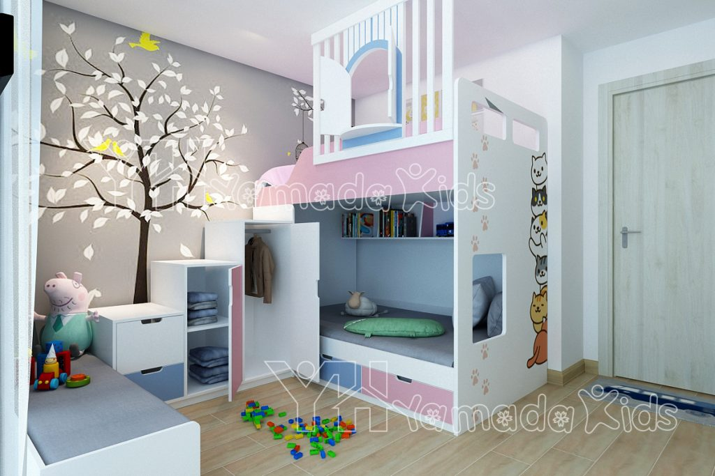 Bộ phòng giường tầng Y08