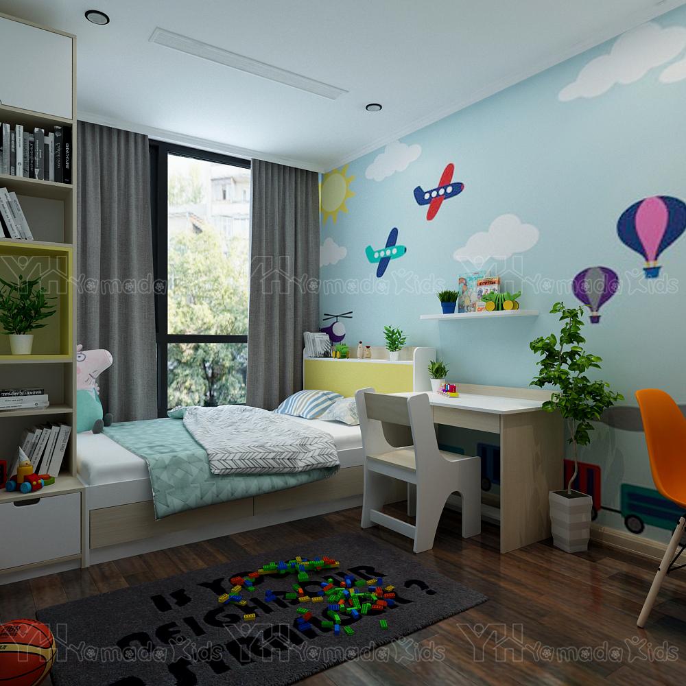 Thiết kế set phòng cho bé trai