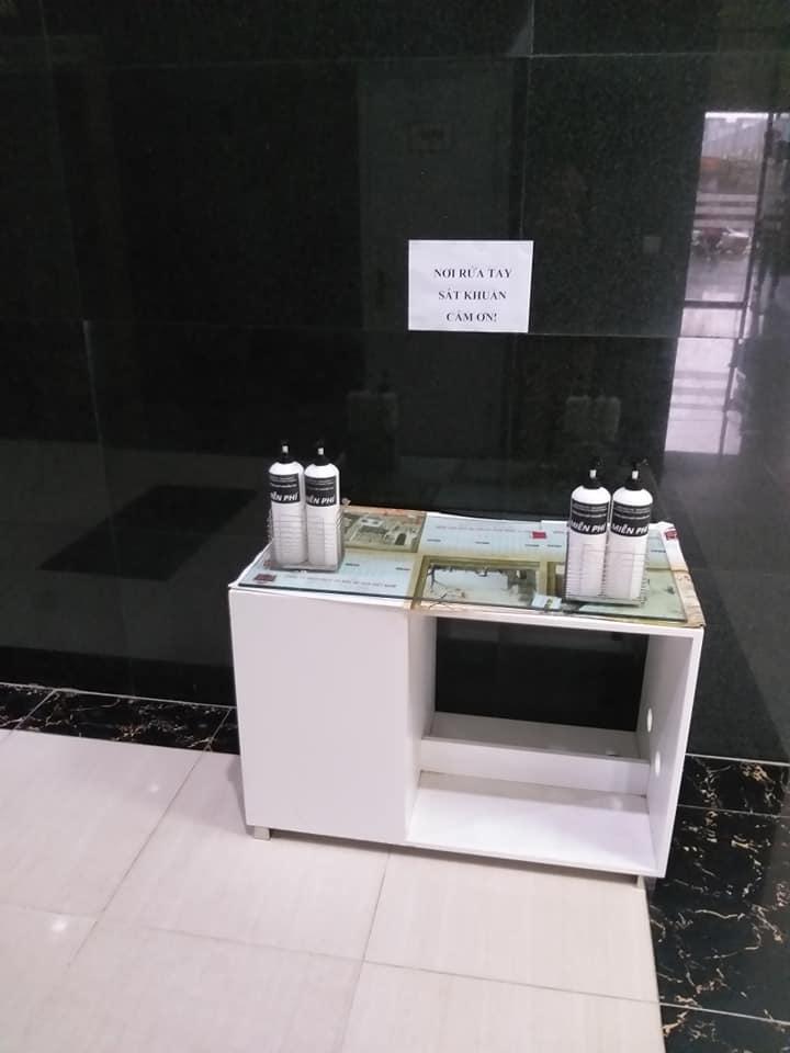 Cách phòng chống dịch virut corona của ban quản lý tòa nhà của các văn phòng